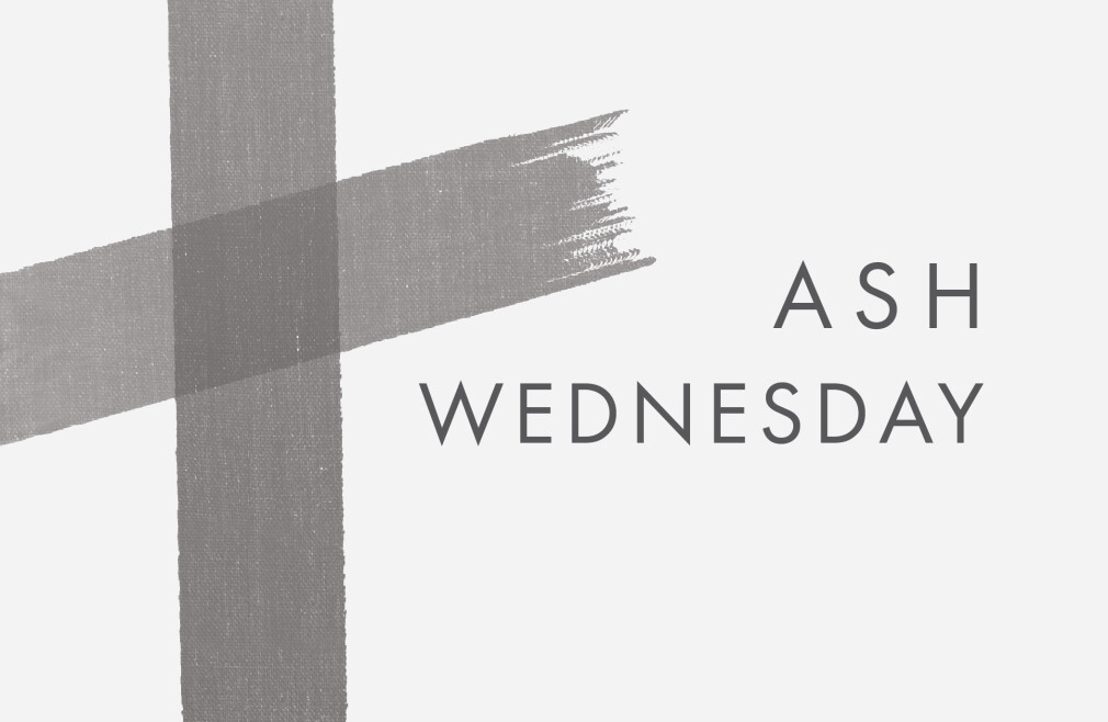 Ash Wednesday | Noon service