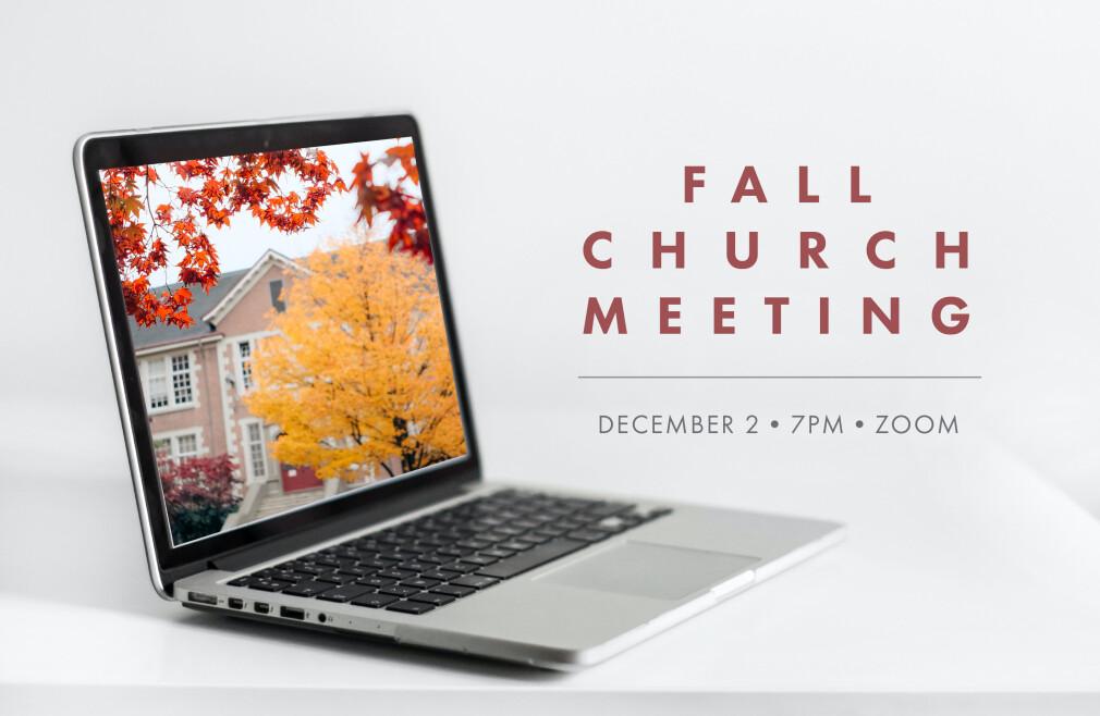 Fall Church Meeting