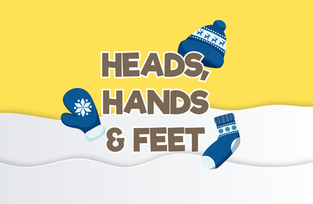 Heads, Hands & Feet